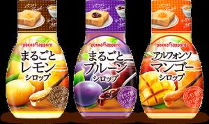 ポッカサッポロ 新発売のフルーツシロップ
