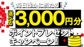 カルビー WEBでも大収穫祭 毎日当たる!選べる3000円分ポイントプレゼントキャンペーン