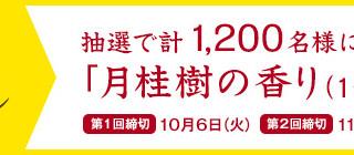 花王 バブ和漢ごこち 月桂樹の香りを1200名様にプレゼント!